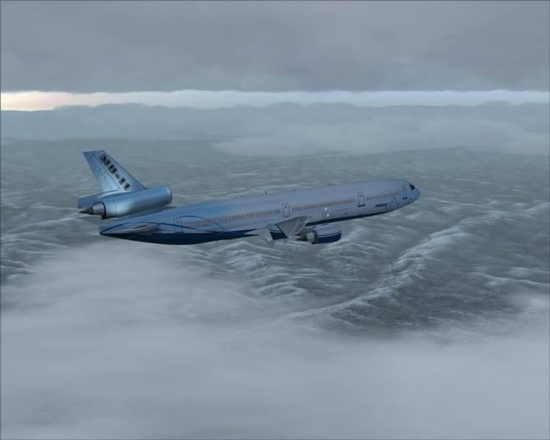 FS9 - Decolagem final Wakkanai...deu tudo certo,vamos rumo a Sapporo agora em voo -2009-mar-21-042