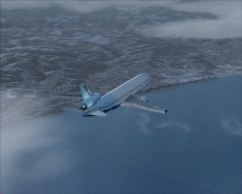FS9 - Decolagem final Wakkanai...deu tudo certo,vamos rumo a Sapporo agora em voo -2009-mar-21-043