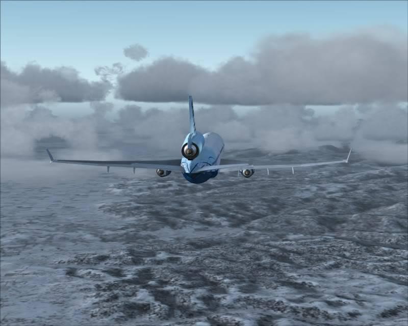 FS9 - Decolagem final Wakkanai...deu tudo certo,vamos rumo a Sapporo agora em voo -2009-mar-21-045