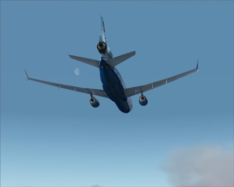FS9 - Decolagem final Wakkanai...deu tudo certo,vamos rumo a Sapporo agora em voo -2009-mar-21-046