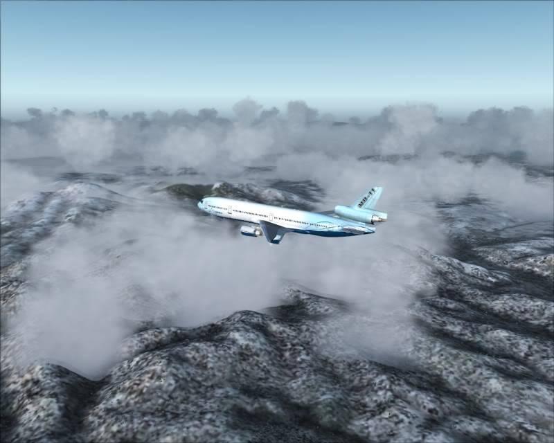 FS9 - Decolagem final Wakkanai...deu tudo certo,vamos rumo a Sapporo agora em voo -2009-mar-21-048