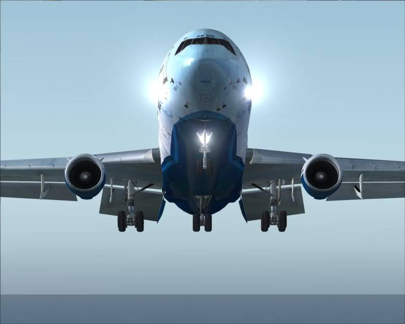 FS9 - Decolagem final Wakkanai...deu tudo certo,vamos rumo a Sapporo agora em voo -2009-mar-21-052