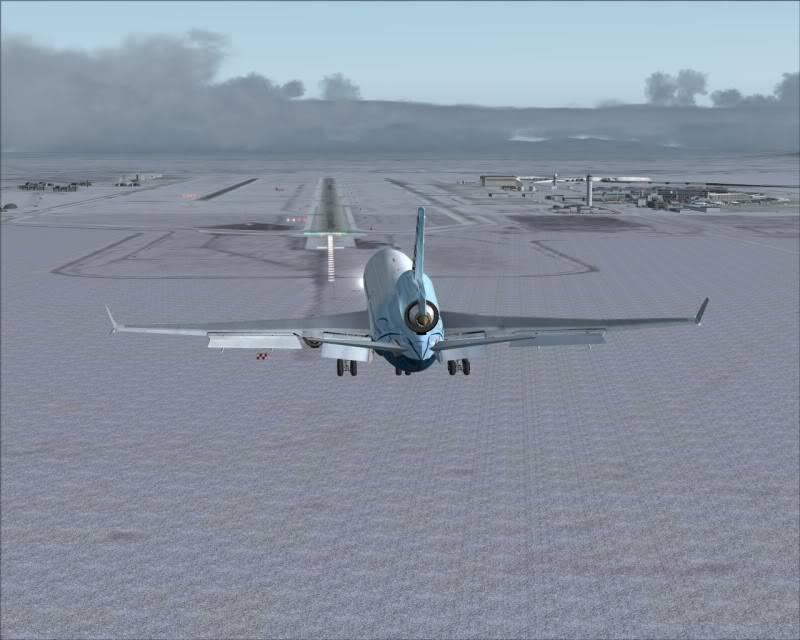 FS9 - Aproximação SAPPORO ... Parte 1,estou adorando este MD-11 -2009-mar-21-054