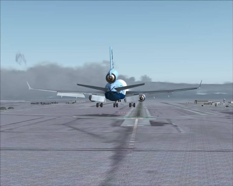 FS9 - Aproximação SAPPORO ... Parte 1,estou adorando este MD-11 -2009-mar-21-056