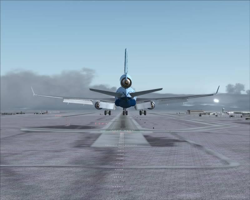 FS9 - Aproximação SAPPORO ... Parte 1,estou adorando este MD-11 -2009-mar-21-057