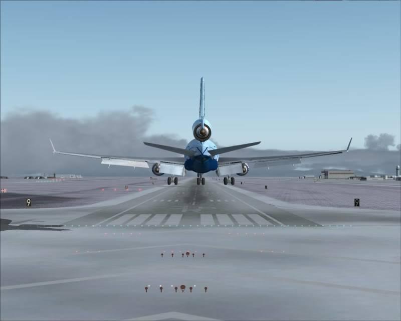 FS9 - Aproximação SAPPORO ... Parte 1,estou adorando este MD-11 -2009-mar-21-058