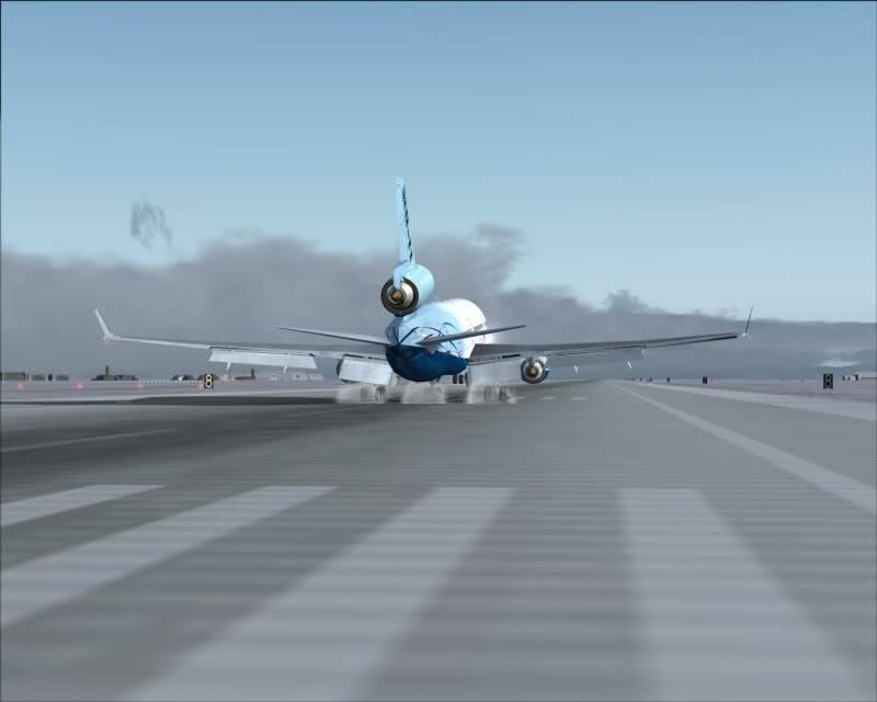 FS9 - Aproximação SAPPORO ... Parte 1,estou adorando este MD-11 -2009-mar-21-060