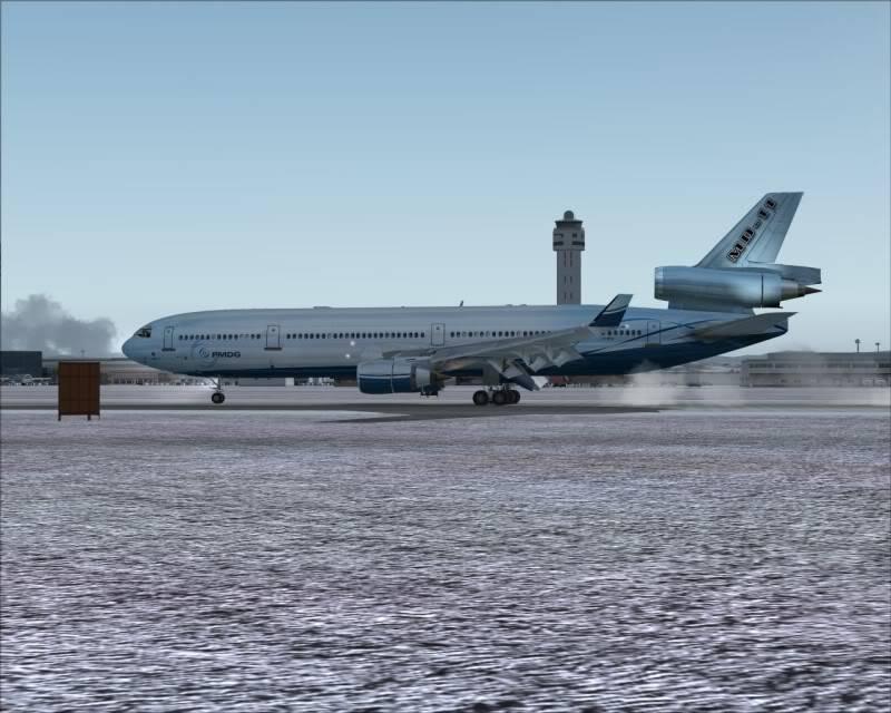 FS9 - Aproximação SAPPORO ... Parte 1,estou adorando este MD-11 -2009-mar-21-065