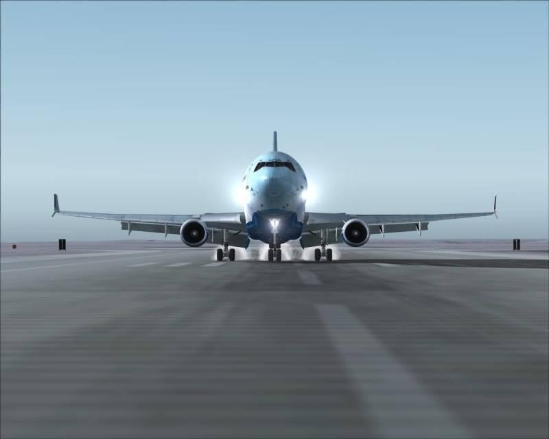 FS9 - Aproximação SAPPORO ... Parte 1,estou adorando este MD-11 -2009-mar-21-066