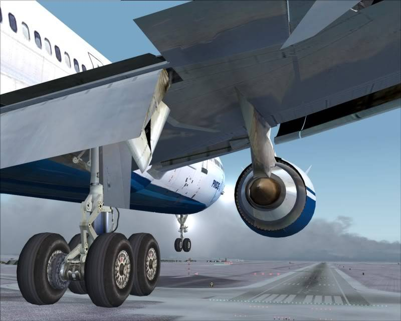 FS9 - Aproximação SAPPORO ... Parte 1,estou adorando este MD-11 -2009-mar-21-067