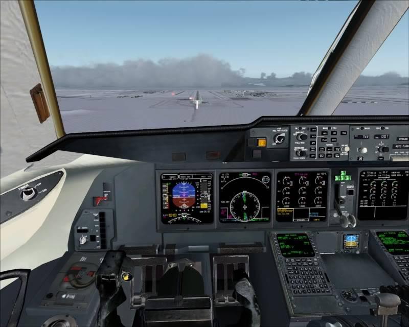 FS9 - Aproximação SAPPORO ... Parte 1,estou adorando este MD-11 -2009-mar-21-080