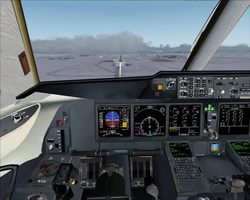 FS9 - Aproximação SAPPORO ... Parte 1,estou adorando este MD-11 -2009-mar-21-081