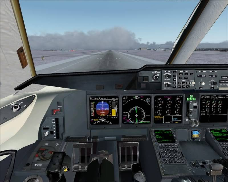 FS9 - Aproximação SAPPORO ... Parte 1,estou adorando este MD-11 -2009-mar-21-084