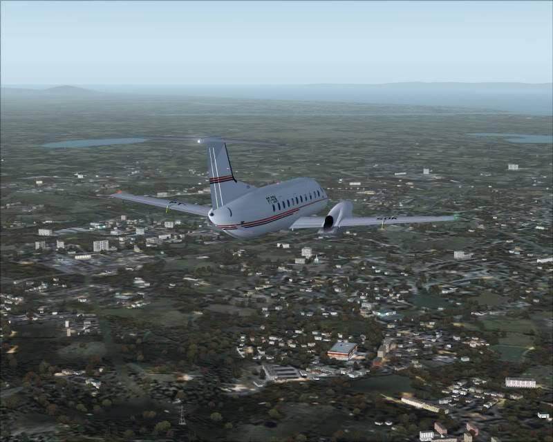 FS9 - Aproximação para NIGATA....,muito vento... balanço geral ... -2009-oct-25-027