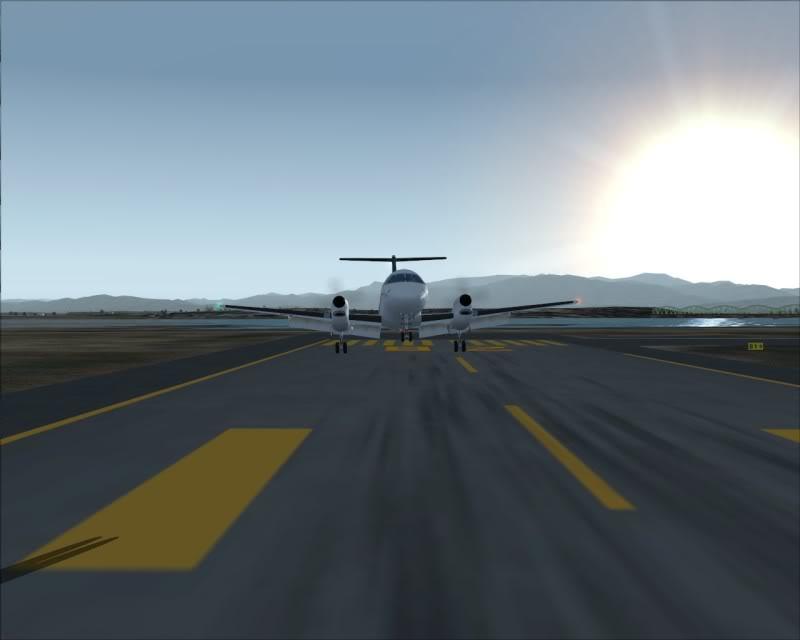 FS9 - NIGATA , fim do pouso e gate ...,um pouco de Nigata - Aeroporto Real x Virtual show -2009-oct-25-055