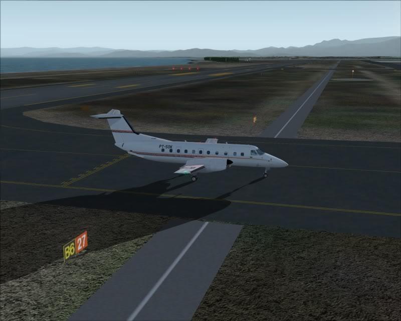 FS9 - NIGATA , fim do pouso e gate ...,um pouco de Nigata - Aeroporto Real x Virtual show -2009-oct-25-059