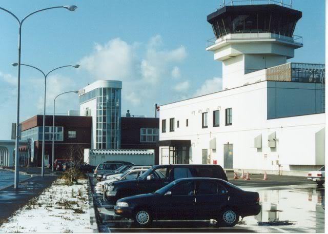 """FS9 - Taxi e Gate em Wakkanai...,um pouco de cidade e """"The End"""" Airport"""