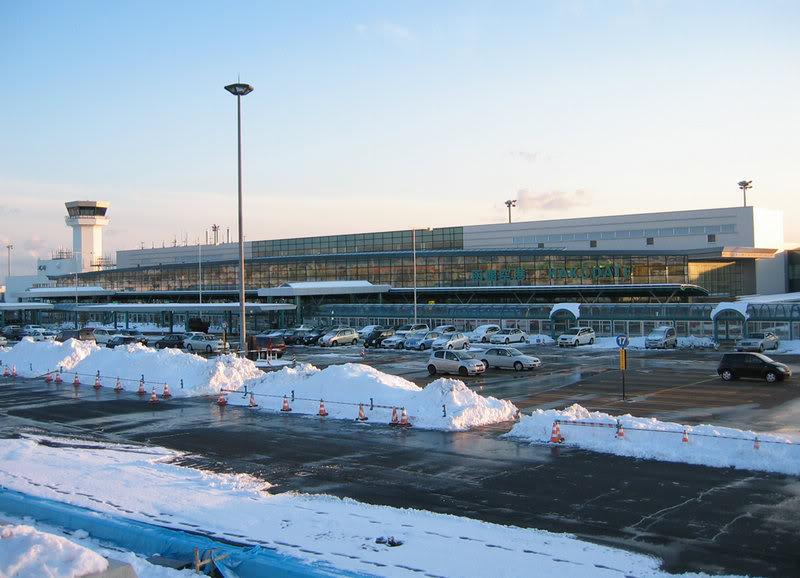 FS9 - Aproximação para HAKODATE... Hakodateairport