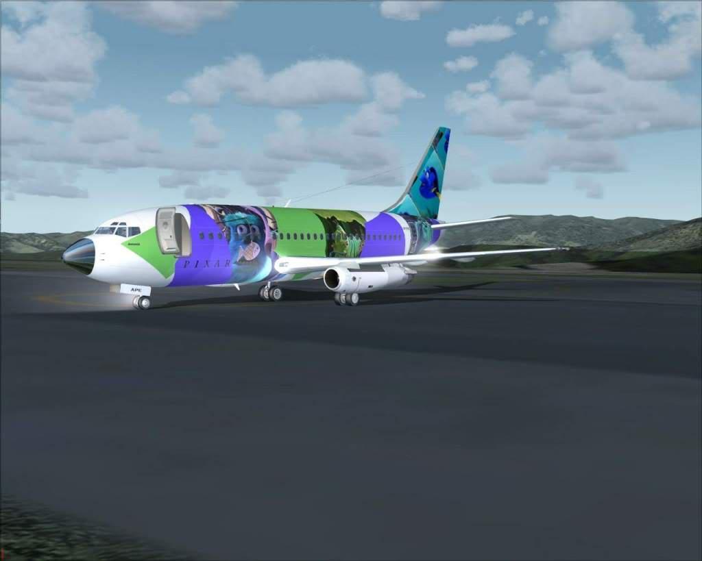 """Fs9"" Tajima - Osaka c/ 737-200 Pixar RICARDO-2010-jul-4-062"