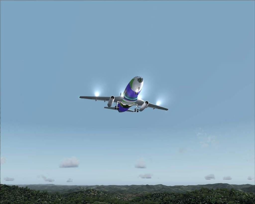 """""""Fs9"""" Voando para Osaka... e aproximação RICARDO-2010-jul-4-091"""