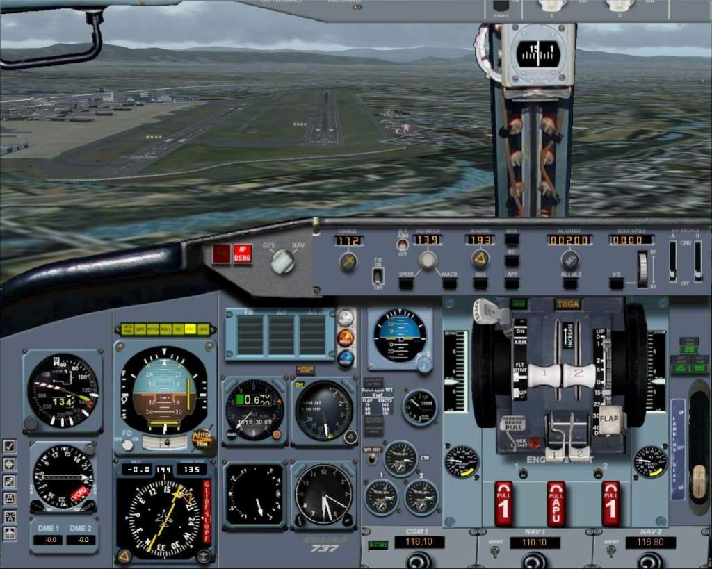 """""""Fs9"""" Voando para Osaka... e aproximação RICARDO-2010-jul-4-093"""