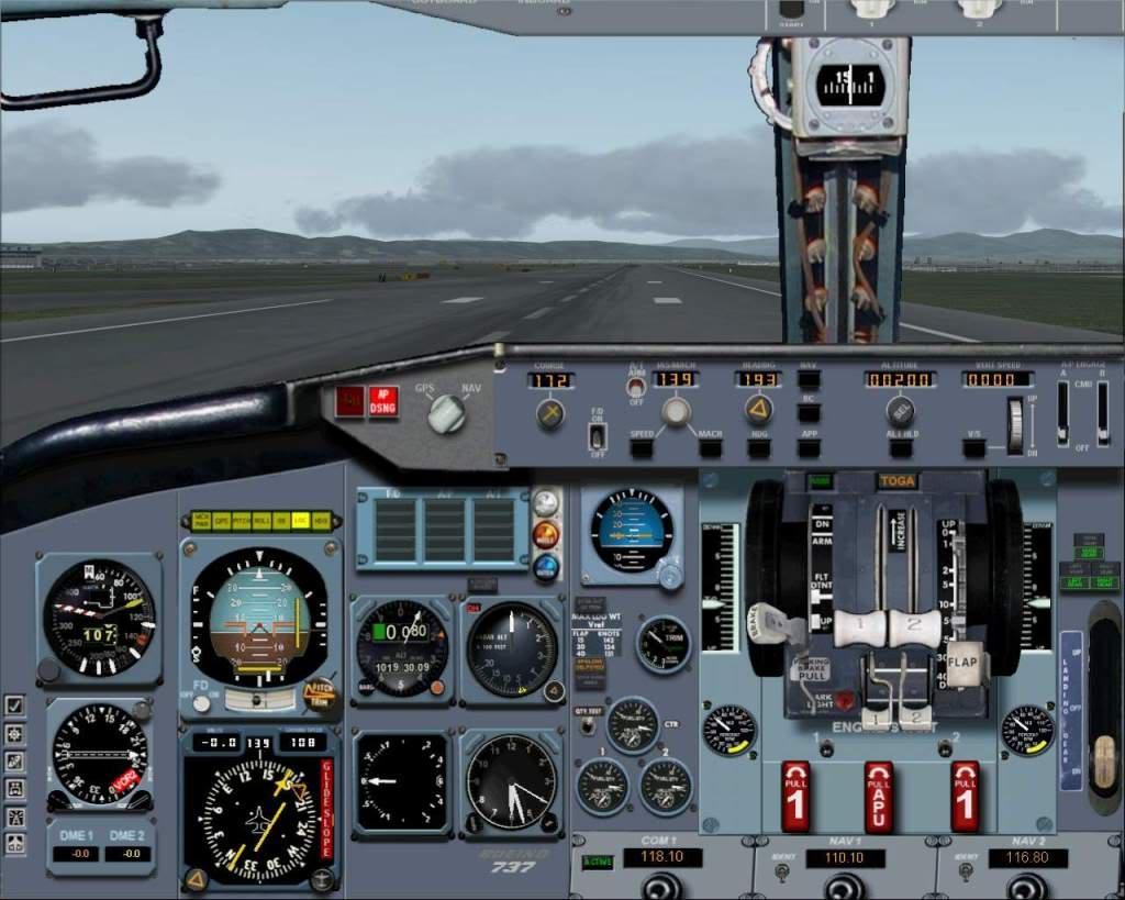 """""""Fs9"""" Voando para Osaka... e aproximação RICARDO-2010-jul-4-096"""