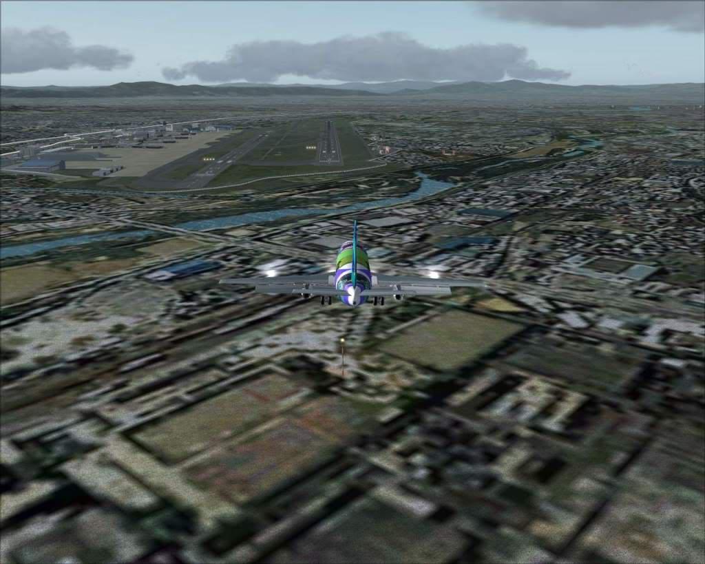 """""""Fs9"""" Voando para Osaka... e aproximação RICARDO-2010-jul-4-098"""