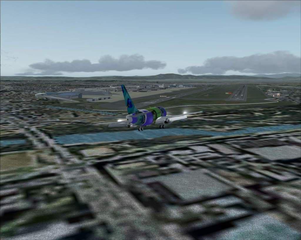 """""""Fs9"""" Voando para Osaka... e aproximação RICARDO-2010-jul-4-099"""