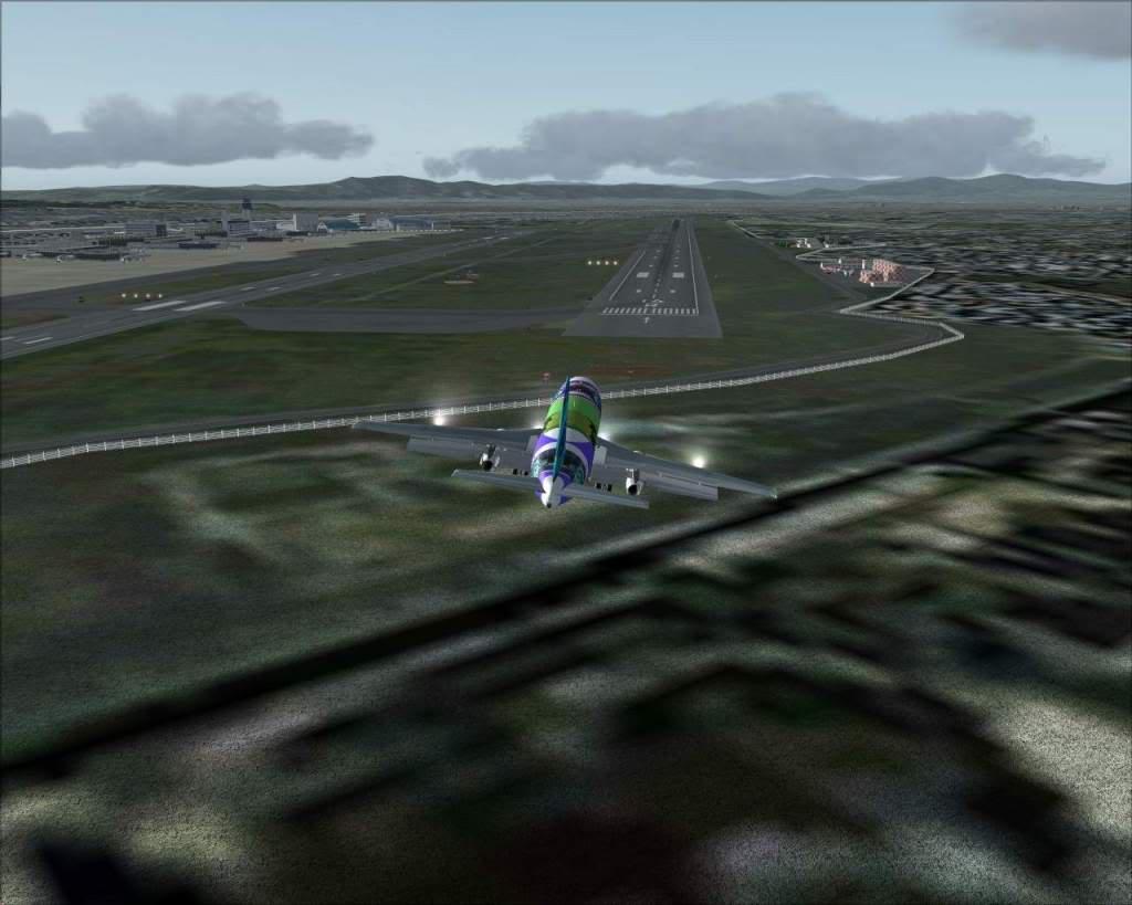 """""""Fs9"""" Voando para Osaka... e aproximação RICARDO-2010-jul-4-100"""