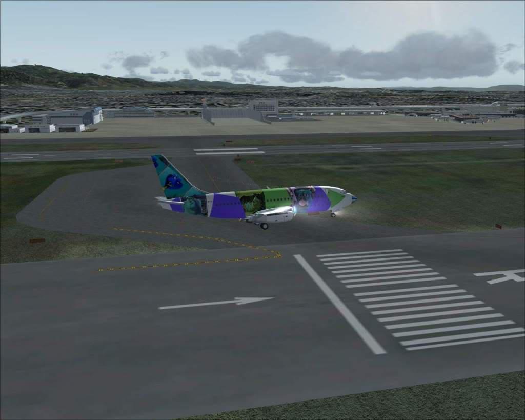"""""""Fs9"""" Voando para Osaka... e aproximação RICARDO-2010-jul-4-101"""