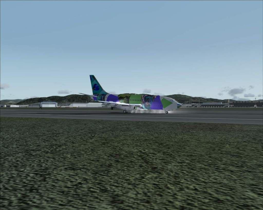 """""""Fs9"""" Voando para Osaka... e aproximação RICARDO-2010-jul-4-105"""