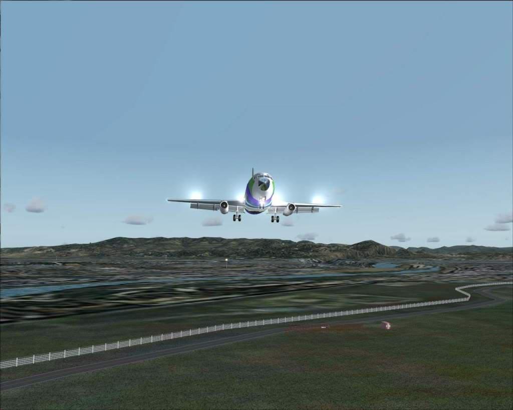 """""""Fs9"""" Voando para Osaka... e aproximação RICARDO-2010-jul-4-106"""