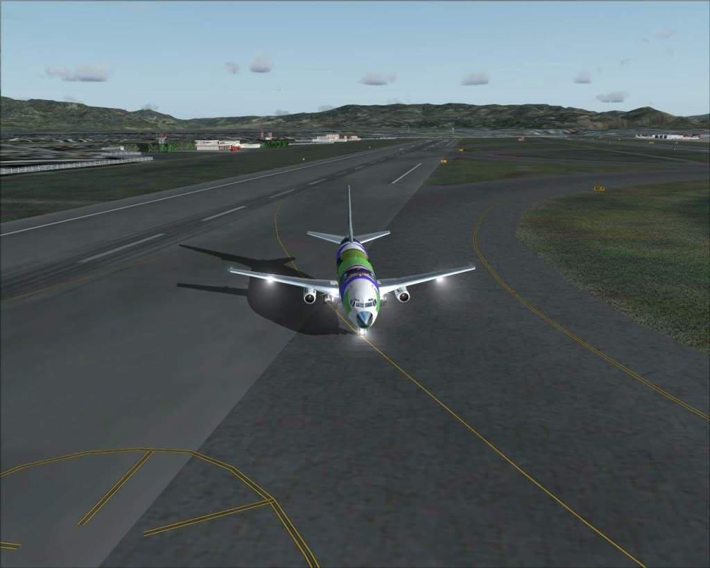 """""""Fs9"""" Voando para Osaka... e aproximação RICARDO-2010-jul-4-113"""