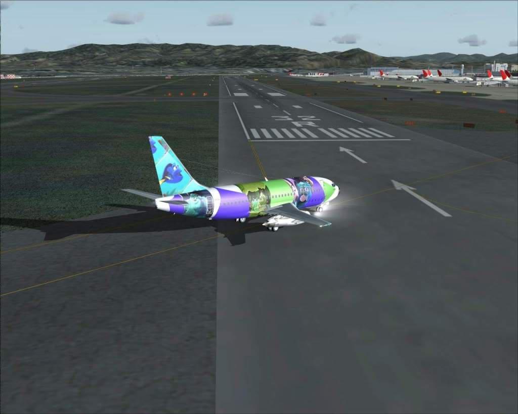 """""""Fs9"""" Voando para Osaka... e aproximação RICARDO-2010-jul-4-115"""