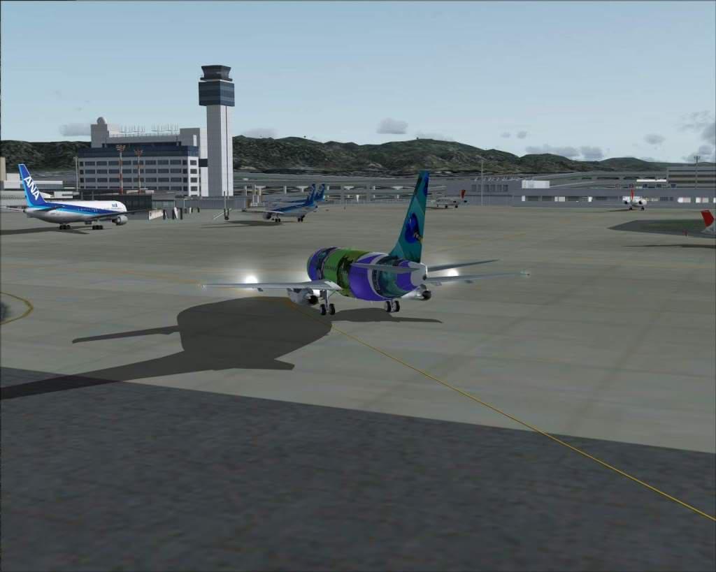 """""""Fs9"""" Operaçoes e Taxi em Osaka..e Osaka RICARDO-2010-jul-4-117"""