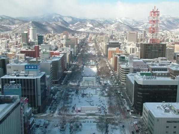FS9 - Aproximação SAPPORO .... Parte 2,um pouco de Sapporo Sapporo