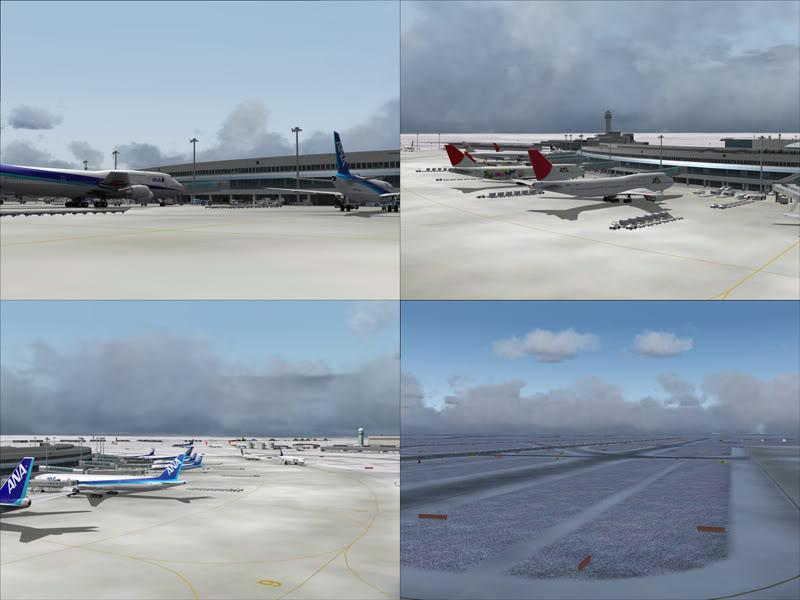 FS9 - New Chitose Airport..in SAPPORO,2º mini review e uma volta por este belo Aeroporto Sapporo10