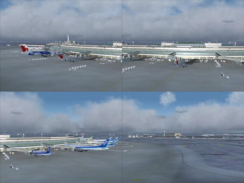 FS9 - New Chitose Airport..in SAPPORO,2º mini review e uma volta por este belo Aeroporto Sapporo11