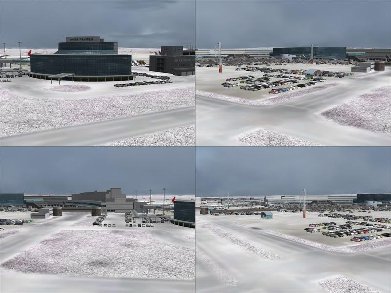 FS9 - New Chitose Airport..in SAPPORO,2º mini review e uma volta por este belo Aeroporto Sapporo3-1