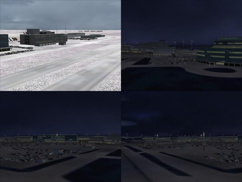 FS9 - New Chitose Airport..in SAPPORO,2º mini review e uma volta por este belo Aeroporto Sapporo4-1