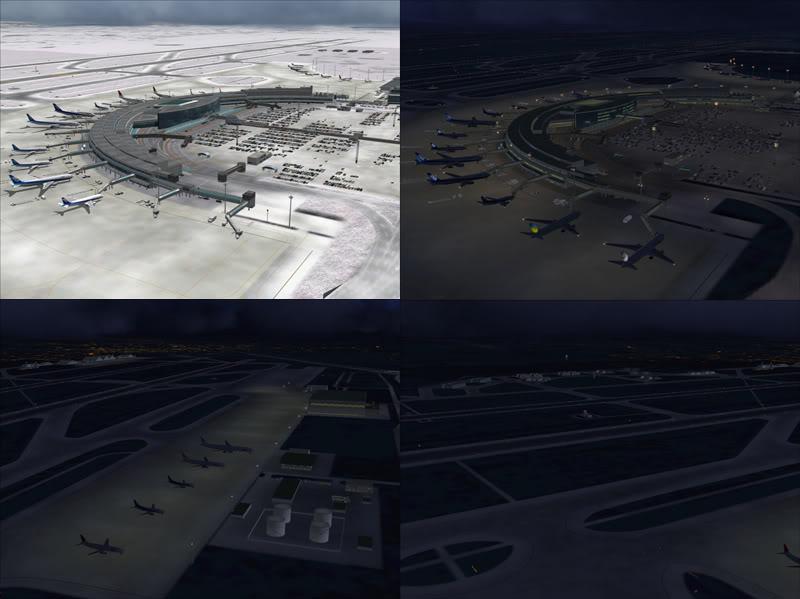 FS9 - New Chitose Airport..in SAPPORO,2º mini review e uma volta por este belo Aeroporto Sapporo7