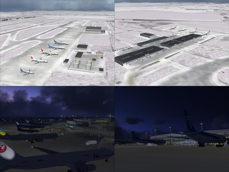 FS9 - New Chitose Airport..in SAPPORO,2º mini review e uma volta por este belo Aeroporto Sapporo9