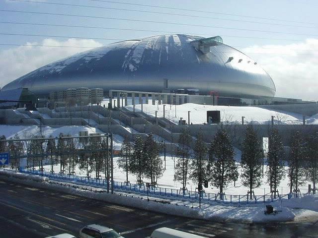 FS9 - Aproximação SAPPORO .... Parte 2,um pouco de Sapporo SapporoDome