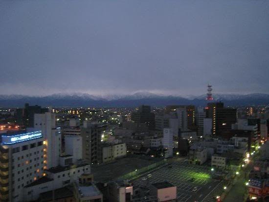 Toyama , taxi e cidade....parte 3 ToyamaCidade