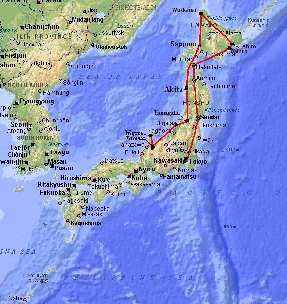 FS9 Toyama - Wajima.. by Tour Japão Map_japan-10