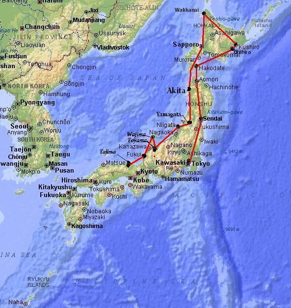 """""""Fs9"""" FUKUI - TAJIMA by Tour Japão Map_japan-12"""