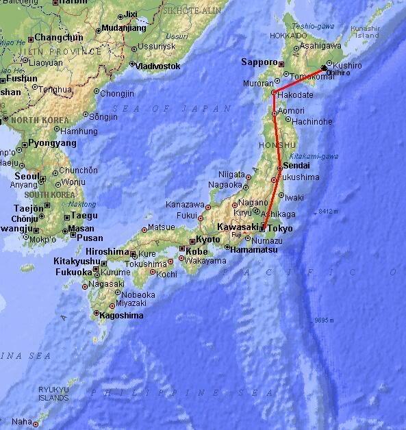 FS9 - UMA LATA de COCA-COLA com 3 Motores ou MD-11,Hakodate - Obihiro by Tour Japão Map_japan-4