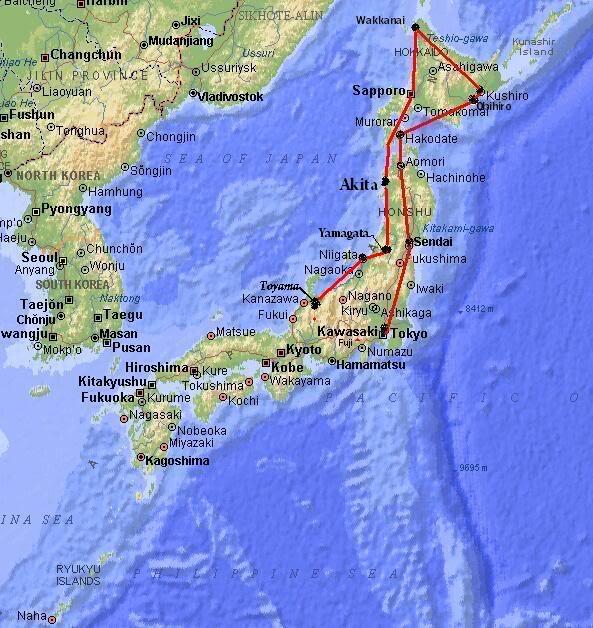 """FS9"" NIGATA - TOYAMA by Tour Japão.....parte 1 Map_japan-9"