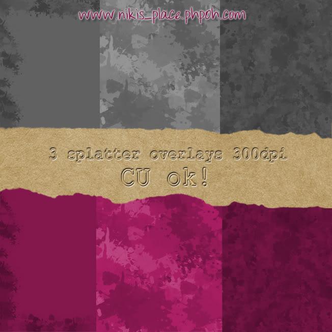 3 splatter overlays NikisPlace-3SplatterOverlays