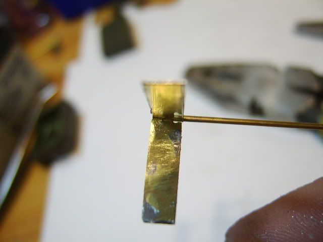 Brass mini hinges 26